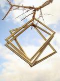 Drie frames. Royalty-vrije Stock Foto's