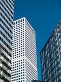 Drie gebouwen Stock Afbeelding