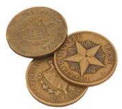 Drie Geld Cuba Royalty-vrije Stock Foto's