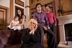 Drie generaties Royalty-vrije Stock Fotografie