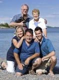 Drie generaties Stock Foto