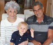 Drie generaties Stock Afbeeldingen