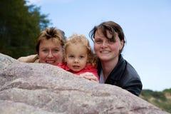 Drie generaties stock foto's