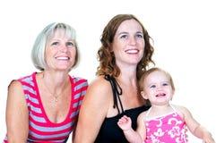Drie Generaties van Vrouwen Royalty-vrije Stock Fotografie