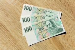 Drie honderd kronen Royalty-vrije Stock Foto