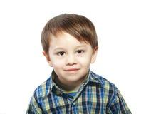 drie jaar oude jongens Stock Afbeelding