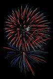 Drie juichen voor het Rood, Wit, en Blauw toe! Royalty-vrije Stock Fotografie