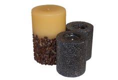 Drie kaarsen Stock Fotografie