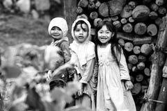 Drie kinderen royalty-vrije stock afbeelding