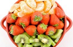 Drie kleurengezondheid Stock Fotografie