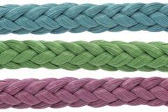 Drie kleurenkabels Royalty-vrije Stock Afbeelding