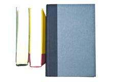 Drie Kleurrijke Boeken Stock Foto's
