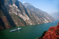 Drie Kloven van de Yangtze-Kloof van de Riviervallei royalty-vrije stock afbeeldingen