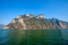 Drie Kloven van de Yangtze-Kloof van de Riviervallei stock fotografie