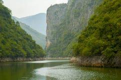 Drie kloven, Yangtze-rivier royalty-vrije stock foto's