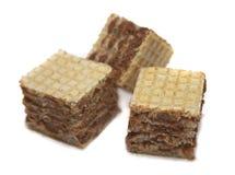 Drie koekjes Stock Foto's