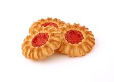 Drie koekjes. Royalty-vrije Stock Fotografie