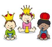 Drie koningen Royalty-vrije Stock Foto