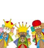 Drie koningen Stock Fotografie