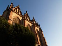 Drie koningenkerk i ii Royalty-vrije Stock Foto's