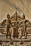 Drie Koningenmonument, Chiang Mai Stock Afbeelding