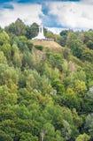 Drie Kruisenmonument in Vilnius Royalty-vrije Stock Foto's