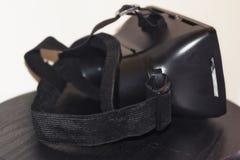 Drie kwart mening van VR-beschermende brillen Stock Foto