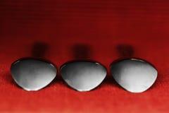 Drie lepels Stock Afbeeldingen