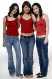 Drie Meisjes Royalty-vrije Stock Foto