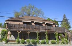 Drie Michelin Stars restaurant Franse Wasserij in Yountville, Napa-Vallei Stock Afbeelding