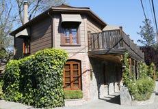 Drie Michelin Stars restaurant Franse Wasserij in Yountville, Napa-Vallei Royalty-vrije Stock Afbeeldingen