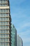 Drie Moderne Commerciële Torens Royalty-vrije Stock Fotografie