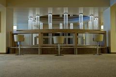 Drie moderne stoelen Royalty-vrije Stock Foto