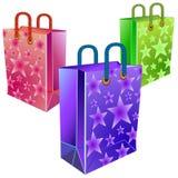 Drie pakketten Royalty-vrije Stock Afbeelding