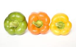Drie peper Stock Fotografie