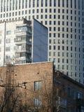 Drie periodes van de moderne architectuur van Moskou Royalty-vrije Stock Foto's