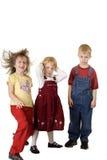 Drie Persoonlijkheden van Kinderen Stock Afbeelding
