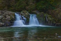 Drie Pools op Opal Creek Stock Afbeelding
