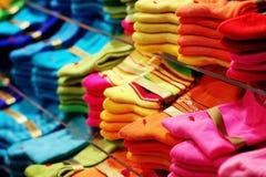 Kleurrijke sokken Stock Afbeelding