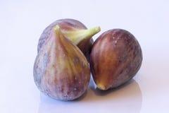 Drie rijpe fig Stock Fotografie