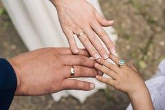 Drie Ringen Stock Afbeelding