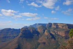 Drie rondawels, Zuid-Afrika Stock Fotografie