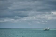 Drie schepen Royalty-vrije Stock Afbeelding