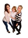 Drie sexy jonge vrouwen royalty-vrije stock foto