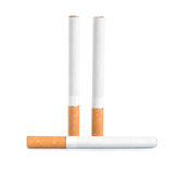 Drie sigaretten (Weg) Stock Afbeelding