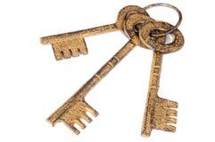 Drie sleutels Stock Foto