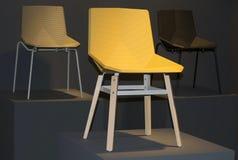 Drie stoelen Stock Foto's