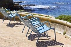 Drie stoelen Royalty-vrije Stock Foto's