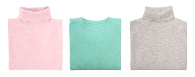 Drie sweaters Royalty-vrije Stock Afbeelding