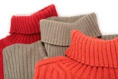 Drie sweaters stock afbeelding